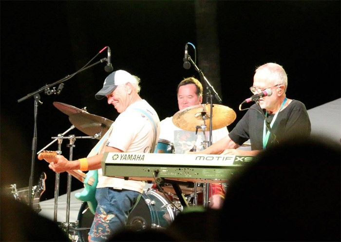 Scott Nickerson and Jimmy Buffett